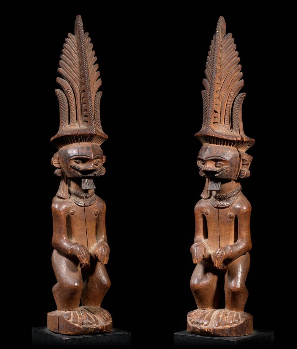 Ancestor figure Adu Zatua - Nias - Indonesia - Catawiki